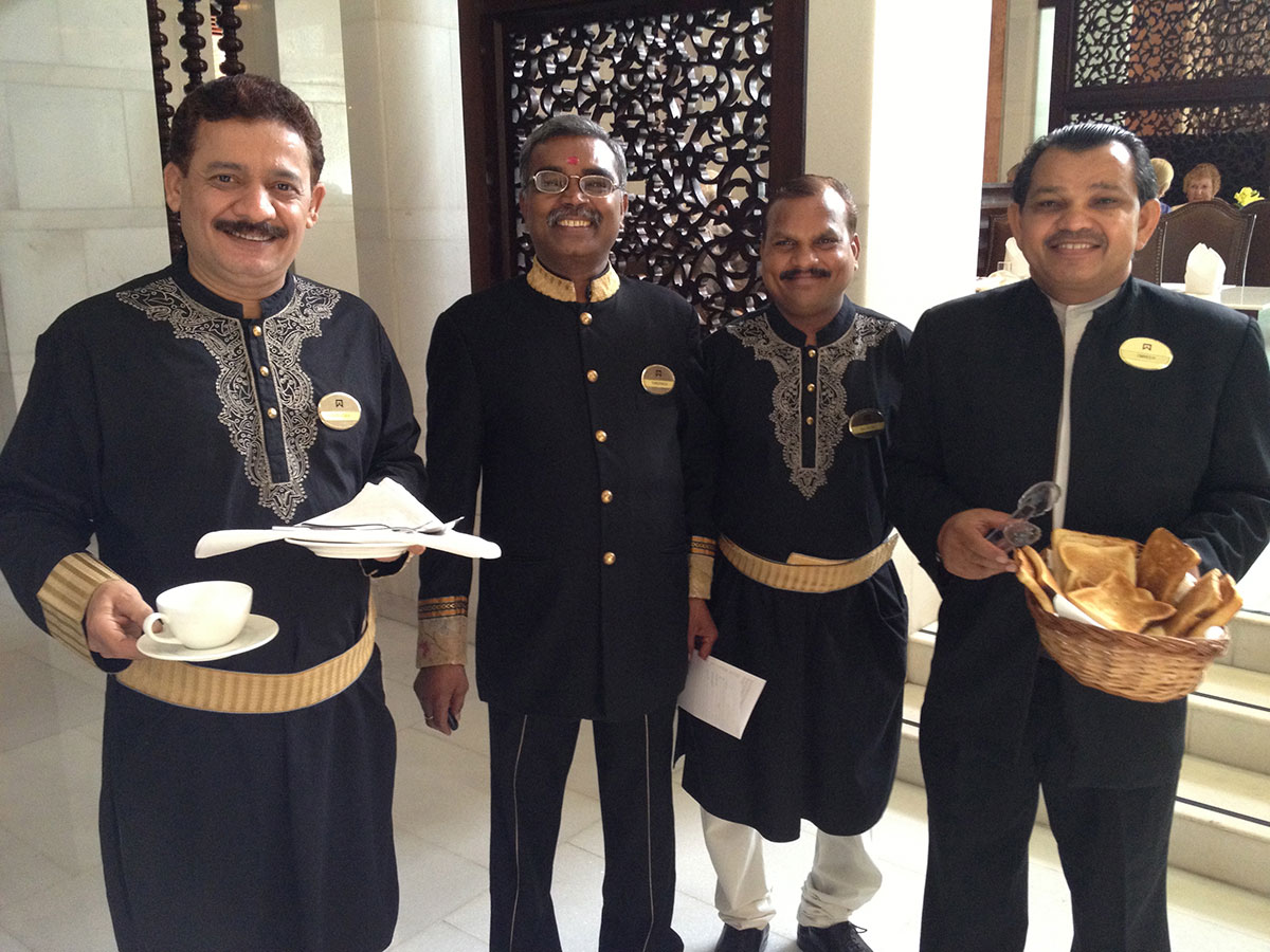 The Breakfast Club: ITC Mughal in Agra, India